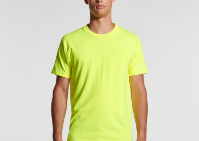 MENS BLOCK TEE (SAFETY COLOURS)
