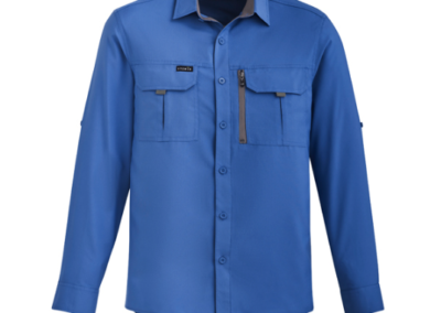 SYZMIK MENS OUTDOOR LONG SLEEVED SHIRT ZW460